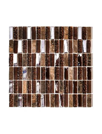 Mosaik Stone Mix Brown